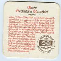 Aecht Schlenkerla alátét A oldal