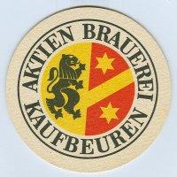 Aktien Brauerei alátét A oldal