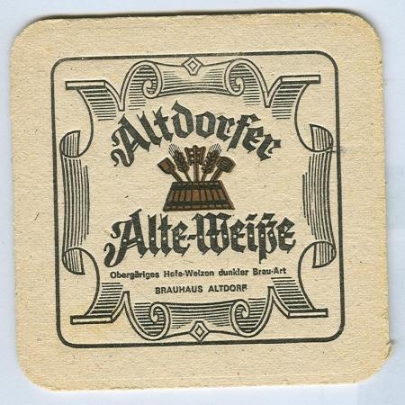 Altdorfer alátét B oldal
