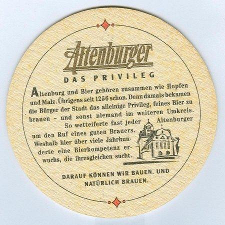 Altenburger alátét B oldal
