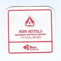 Asia hotels alátét A oldal