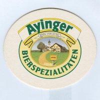 Ayinger alátét A oldal