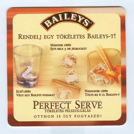 Baileys alátét A oldal