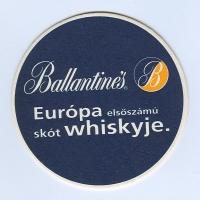 Ballantine's alátét A oldal
