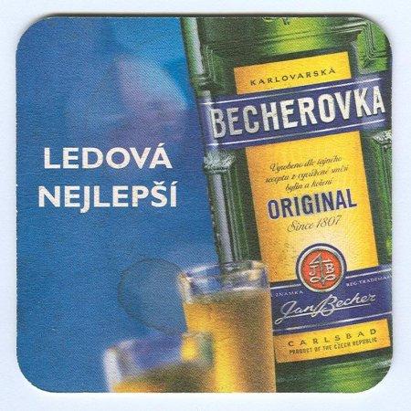 Becherovka alátét A oldal