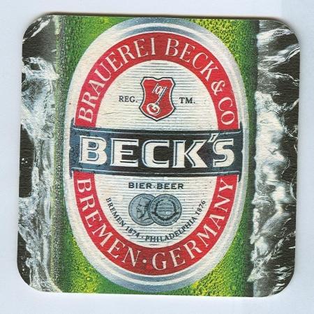 Beck's alátét A oldal