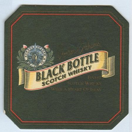 Black Bottle alátét A oldal
