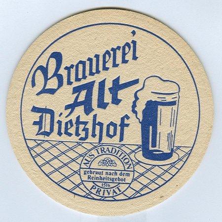 Brauerei alt alátét A oldal