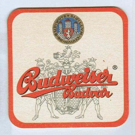 Budweiser alátét A oldal