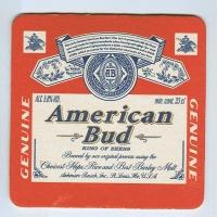 Budweiser   (USA) alátét A oldal