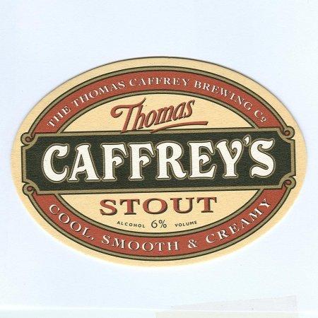 Caffrey's alátét A oldal