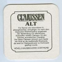 Clarissen Alt alátét B oldal