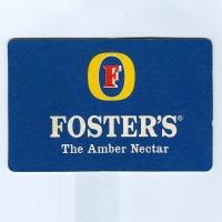 Foster's alátét A oldal