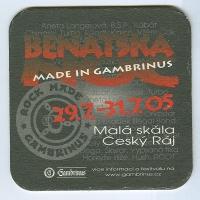 Gambrinus alátét B oldal