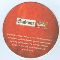 Gambrinus alátét A oldal