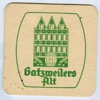 Gatsweilers Alt alátét A oldal