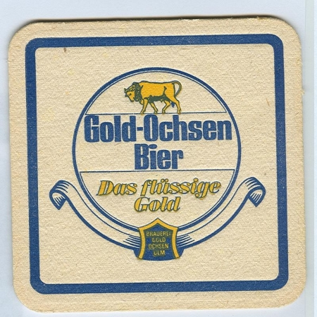 Gold Ochsen alátét A oldal