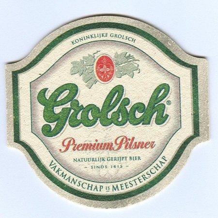 Grolsch alátét A oldal