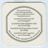 Hainfelder alátét B oldal