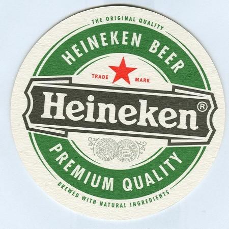 Heineken alátét A oldal