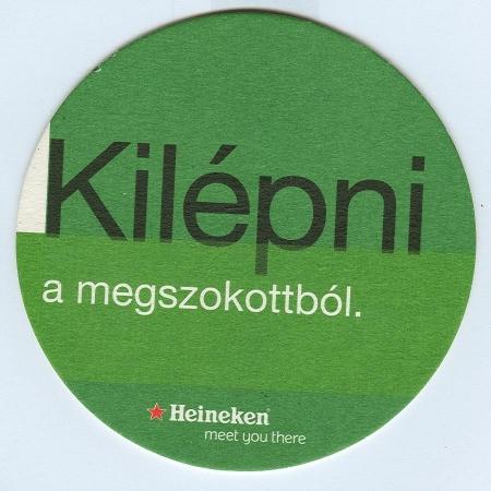 Heineken alátét B oldal