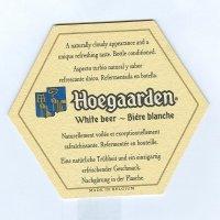 Hoegaarden alátét A oldal