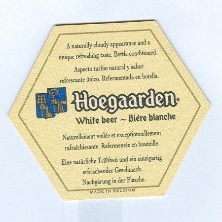 Hoegaarden alátét B oldal