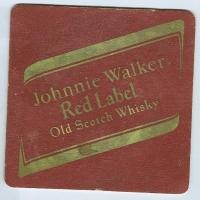 Johnnie Walker alátét A oldal