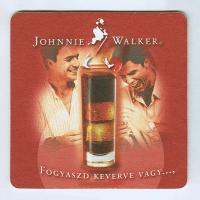 Johnnie Walker alátét B oldal