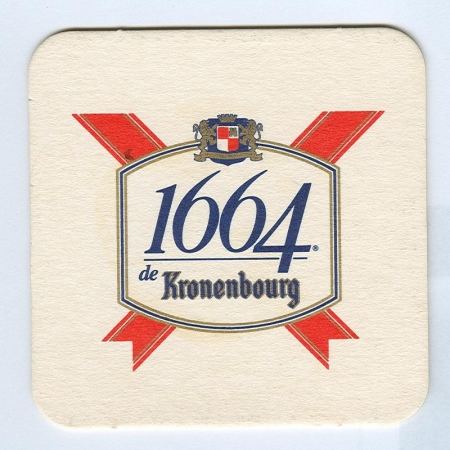 Kronenbourg alátét B oldal