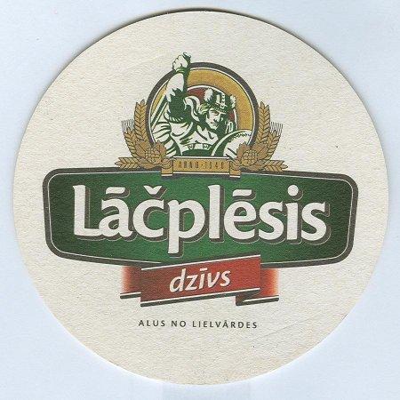 Lāčplēsis alátét A oldal