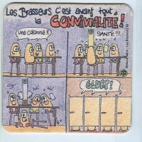 Les Brasseurs alátét A oldal