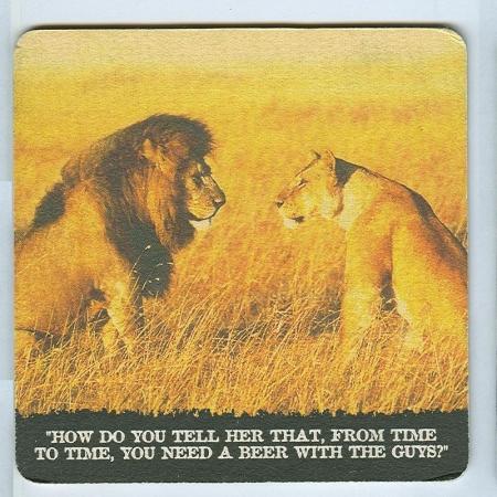 Lion alátét B oldal