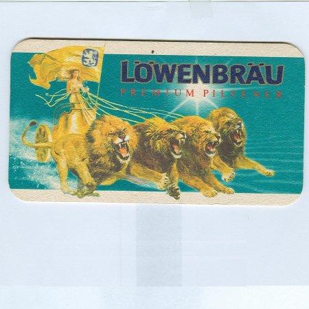 Löwenbräu alátét B oldal