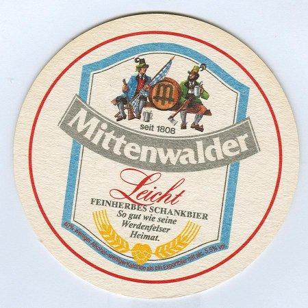 Mittenwalder alátét A oldal