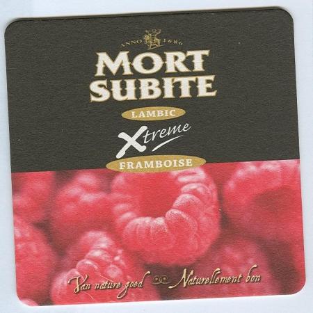 Mort Subite alátét A oldal
