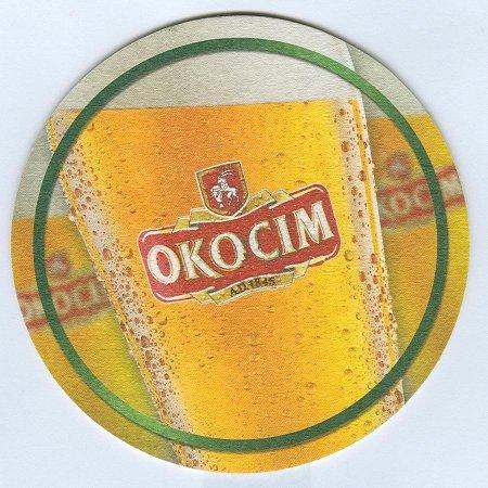 Okocim alátét B oldal