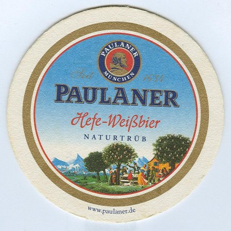 Paulaner alátét A oldal