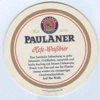 Paulaner alátét B oldal