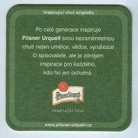 Pilsner Urquell alátét B oldal