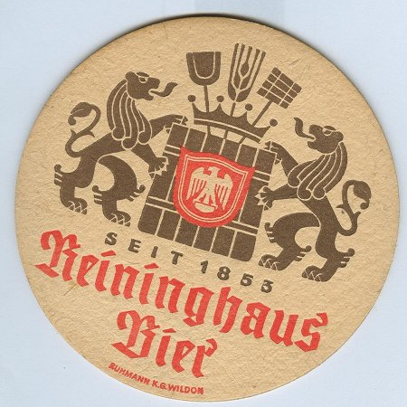 Reininghaus alátét A oldal