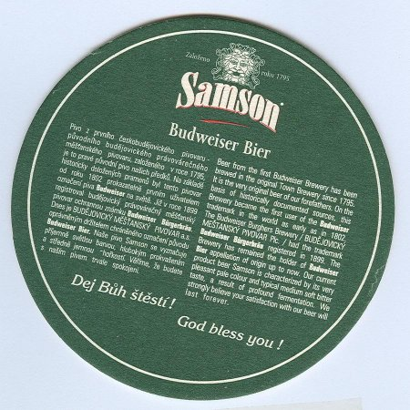 Samson alátét B oldal