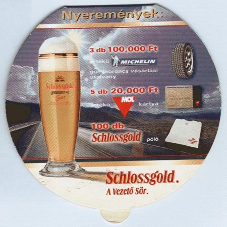 Schlossgold alátét B oldal