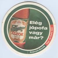 Soproni Ászok alátét B oldal