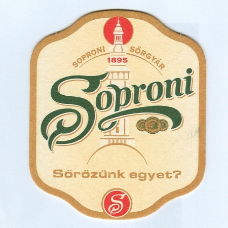 Soproni Ászok alátét A oldal