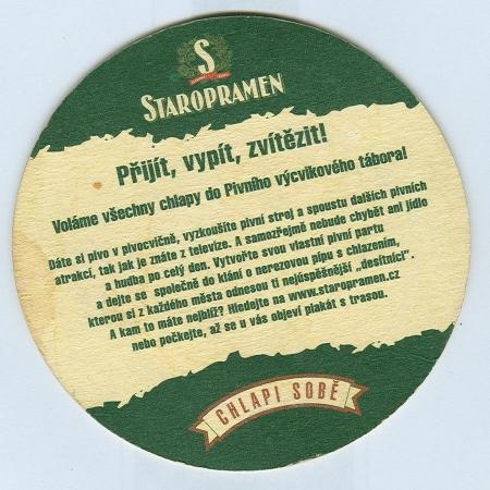 Staropramen alátét B oldal