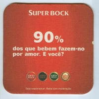 Super Bock alátét A oldal