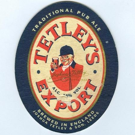 Tetley's alátét A oldal