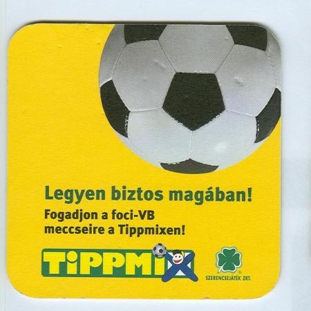 Tippmix alátét B oldal