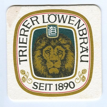 Trierer Löwenbräu alátét A oldal
